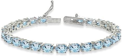 Best topaz tennis bracelets Reviews