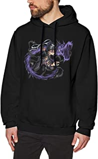 Amazing Yu Yu Hakusho Men's Black Long Sleeve Sweatshirts Hoodies