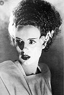 "Kopoo Bride of Frankenstein 1935 Elsa Lanchester 36x24 Black and White Movie Art Print Poster Photograph Famous Classic Hollywood Film, 12"" x 18"" (297 x 450 mm)"