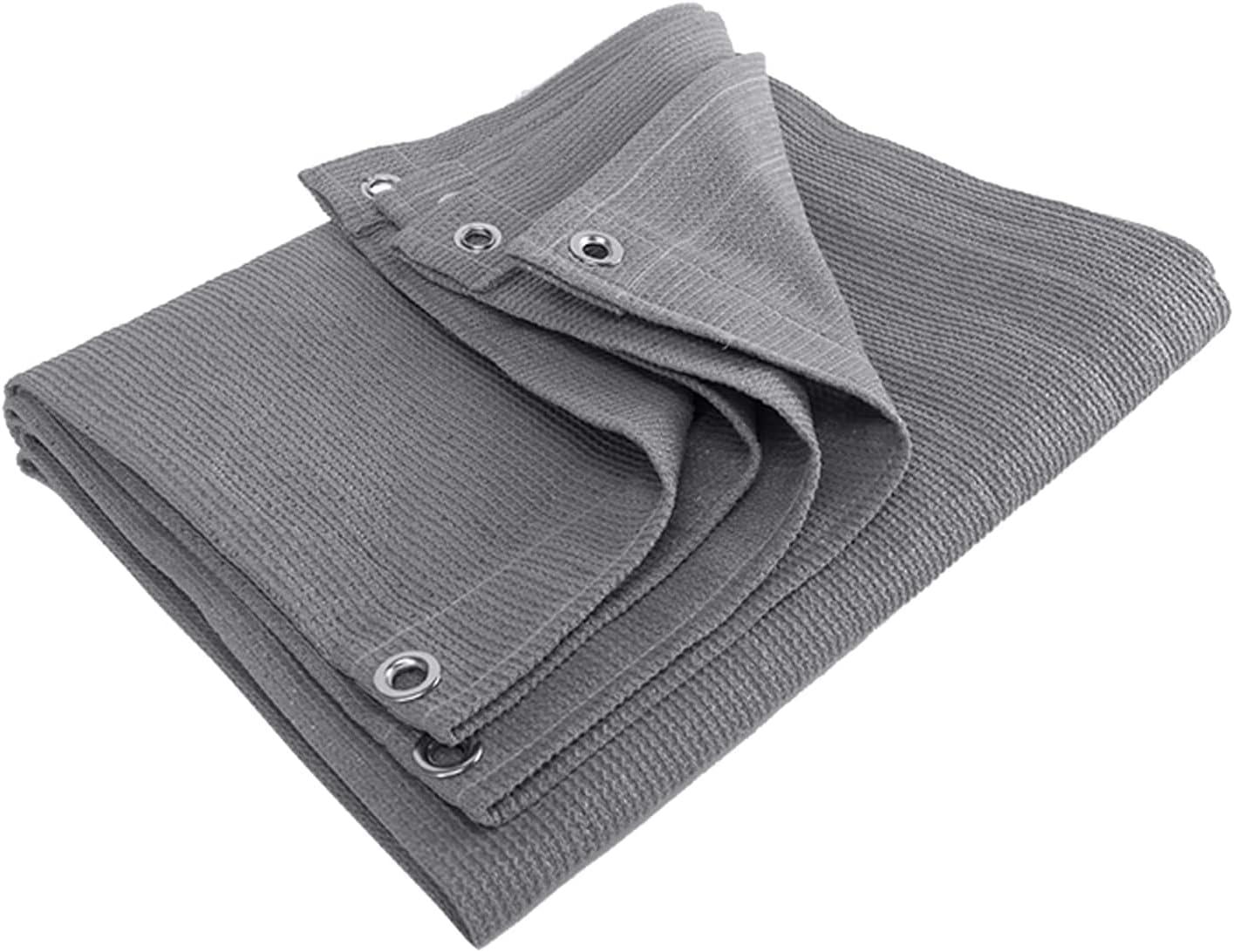 MVNZXL Tarps Multi-Purpose 90% Sun Shade Time sale R Brand new Screen Grey Uv Cloth