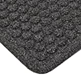 Notrax - 150S0046CH NoTrax Floor Matting 150 Aqua Trap Entrance Mat, for Home or Office, 4' X 6' Charcoal