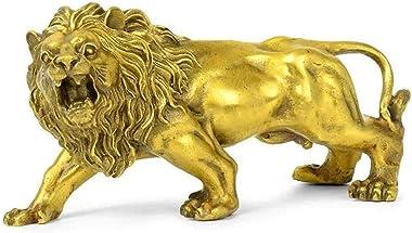 Beautiful Art Decorations Sculpturesculpture Decoration Statues and Figurines Pure Copper Lion Animal Decoration Home Decorat