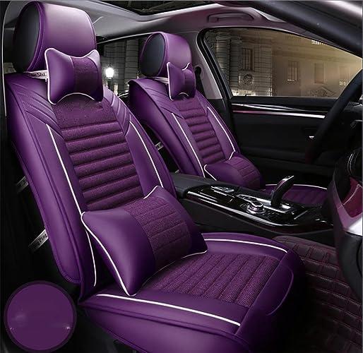 AMYMGLL santé de haute qualité coussin de voiture universel fixe linge version luxe (de 11Réglez) cinq ensembles de coussins de voiture généraux de prougeection de l'environneHommest quatre saisons communes de choix 2 couleurs ,  31