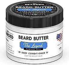 Live Bearded Sandalwood Beard Butter With Hint Of Vanilla, The Legend All Natural Beard Butter