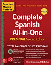Download Practice Makes Perfect: Complete Spanish All-in-One, Premium Second Edition PDF