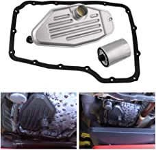 Ruien 4x4 Deep Pan Transmission Solenoid Fluid Change Filter Service Gasket Kit for 45RFE 545RFE 68RFE 4WD 3.7 L 4.7L 5.7L 2.8L, Compatible with Jeep Liberty 2003-2007 5 SP R/4WD L4 2.5L/2.8L Diesel