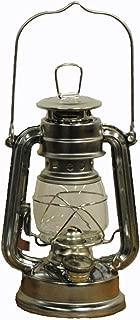 Shop4Omni Silver Hurricane Kerosene Oil Lantern Emergency Hanging Light/Lamp - 8 Inches
