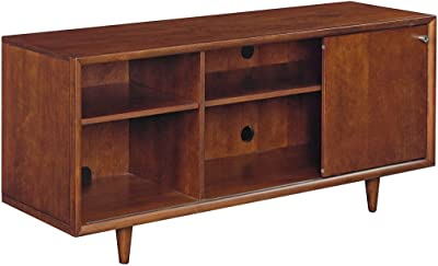 Bell'O Fairgrove TV Stand for TV's up to 60 inches, Mahogany Cherry