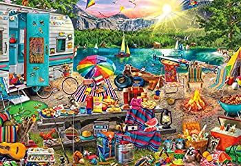 Buffalo Games - Aimee Stewart - Family Campsite - 2000 Piece Jigsaw Puzzle