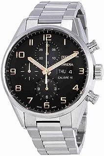 TAG Heuer Carrera Black Dial Calibre 16 Men's Watch CV2A1AB.BA0738