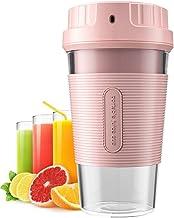 TIKTOK Portable Blender Cordless Mini Personal Blender Small Smoothie Blender USB Fruit Juicer cup