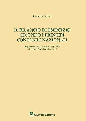 Books By Giuseppe Savioli_il Bilancio Di Esercizio Secondo I ...