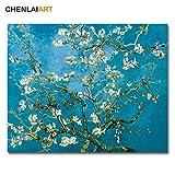Sakkdaull Leinwand KitVan Gogh, berühmter blühender Mandelbaum, für Geburtstag, Hochzeit, neue...