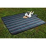 EXTSUD Picnic Blankets Outdoor Carpet Mat, Large Waterproof Backing Soft Foldable Camping Tote Compact Oversized Rug 200…