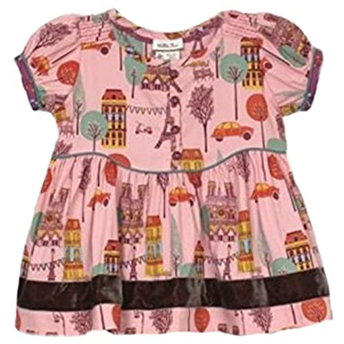 412da41ae2ca7 New Matilda Jane Secret Fields Bon Vivant Paris Eiffel Tower Peasant Top