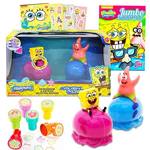 Spongebob Squarepants Jellyfish Toy Racers ~ 2 Pack Spongebob &...