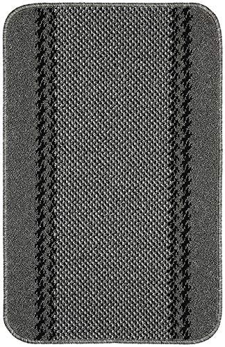 William Armes Kilkis Hardwearing Polypropylene Mat Stain & Slip Resistant Washable Runner 180cm x 67cm (Charcoal)