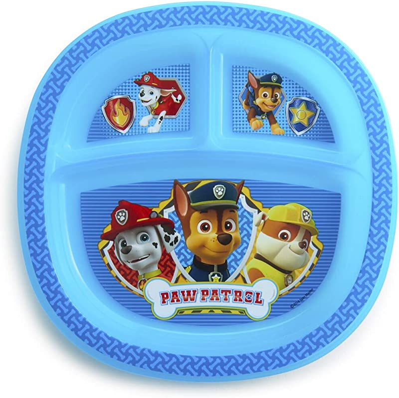 Munchkin Paw Patrol Boys Toddler Plate