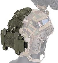 /équipement de paintball MK2 Batterie Cas pour Casque Tactique Casque Poche Chasse Accessoires Nuit Poche Casque Sac Multicam