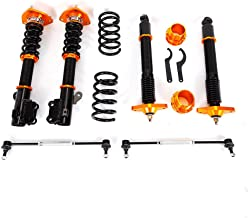 Coilover TBVECHI Coilover Absorbers Spring Shock Suspension Kit Coil Springs Coilover Kit Fit for 11-15 Hyundai Genesis Coupe