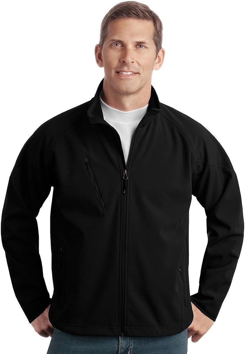 Port Authority Textured Soft Shell Jacket - Black J705 L
