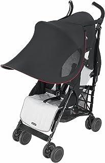 comprar comparacion Maclaren ADN63022 - Parasol Extra grande, UPF 50+, para Sillas de paseo plegables tipo paraguas, Negro
