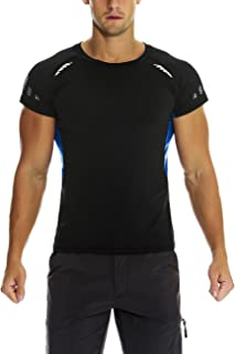 Nonwe Men's Quick Dry Athletic T-Shirts Moisture-Wicking