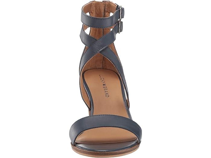 Lucky Brand Ressia Indigo Heels