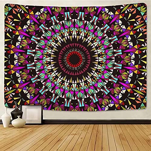 Mandala Tapestry Wall Hanging Boho Decor Mandala Wall Cloth Psychedelic Hippie Wall Carpet Witchcraft Decor Yoga Mat room decor 150x100cm