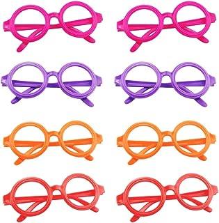 Kids Toys 10PCS Plastic Round Glasses Frame Toys No Lens Eyeglasses Rack Toys Creative Optical Frames Toys Educational Eye...
