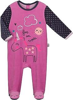 Pijama bebé terciopelo unicornio–Talla–24meses (92cm)