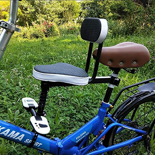 FHGH Silla Bicicleta NiñO,Asientos para Bicicleta NiñO