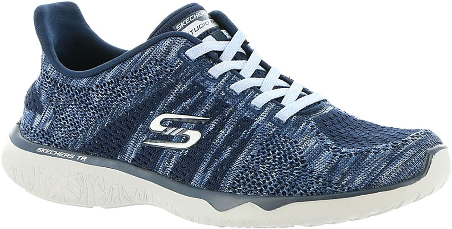 Skechers Women's Studio Burst-Edgy Slip-On