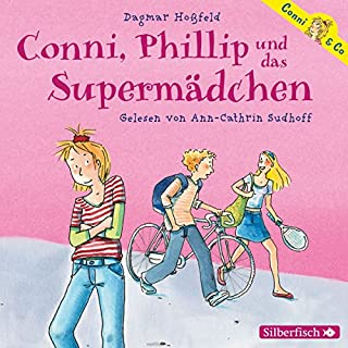 Conni, Phillip und das Supermädchen audiobook cover art
