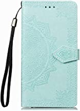 Wuzixi Case for Huawei Y3 2017/Y3 2018. Anti-Scratch, Flip Case Side suction Kickstand Feature Card Slots Case, PU Leather Folio Cover for Huawei Y3 2017/Y3 2018.Green