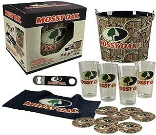 Mossy Oak Pint Glass Gift Set with Bucket