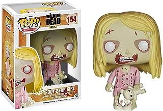 Funko Teddy Bear Girl: Walking Dead x POP! TV Vinyl Figure & 1 POP! Compatible PET Plastic Graphical Protector Bundle [#154 / 04244 - B]