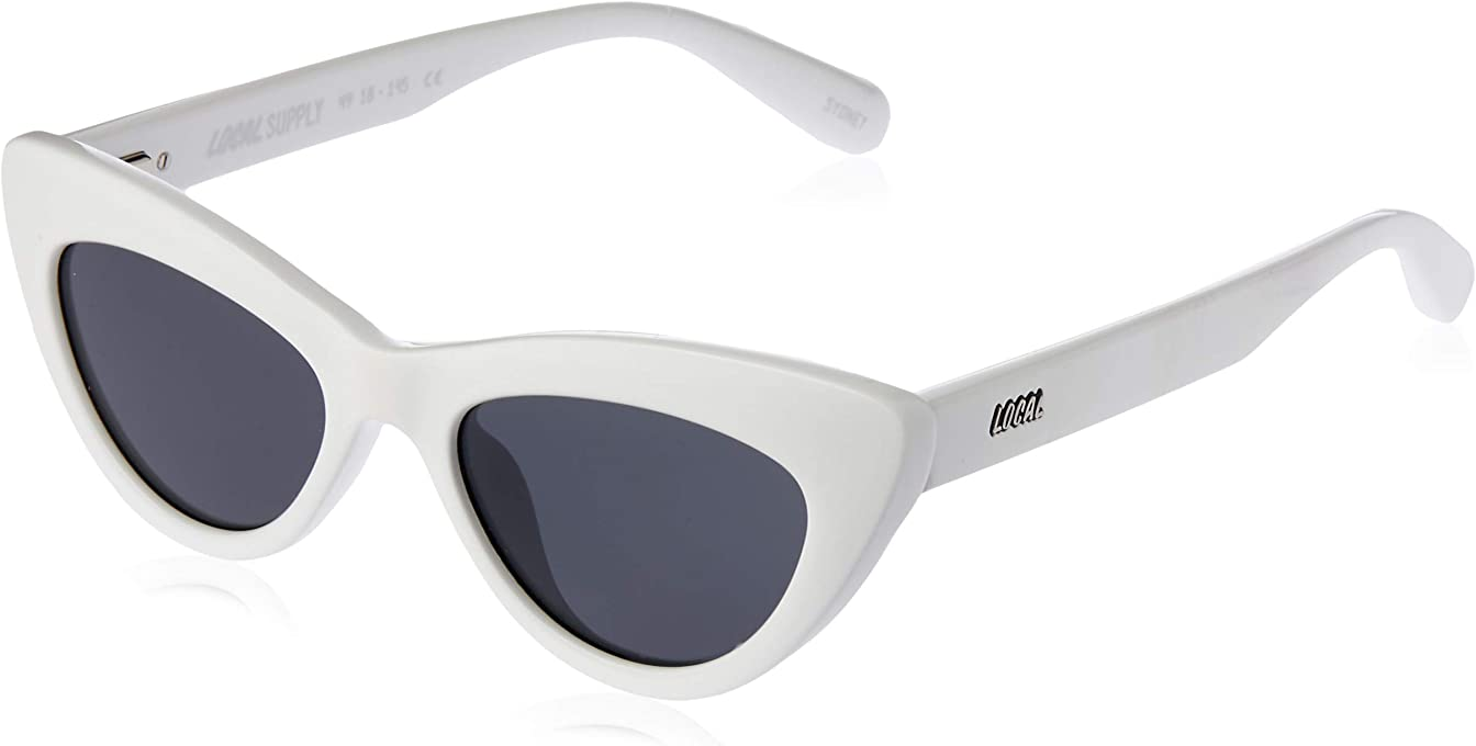Local Supply Women's MARINA Gloss White Frames