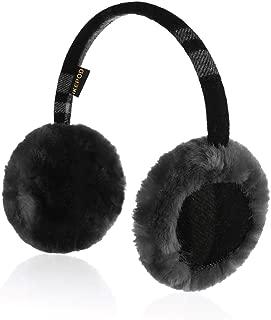Kids Girl Boy Australian Sheepskin Wool Earmuffs, Fur Winter Ear Warmer