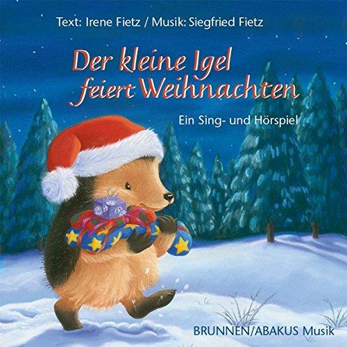 Der kleine Igel feiert Weihnachten: Musik Album auf CD