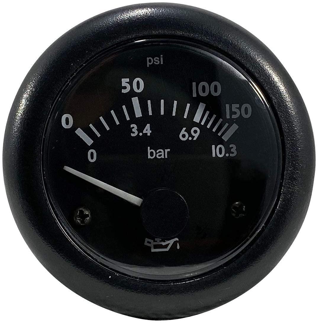 Thunder Parts Oil Pressure Gauge Brand Cheap Sale National uniform free shipping Venue 0 PSI 10.3 - 150 or bar