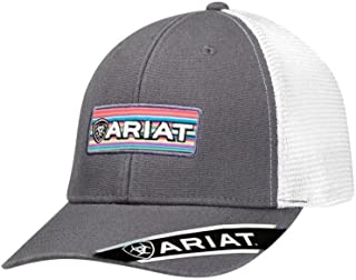 Ariat Women's 3D Embroidered Logo Cap, Grey, OS