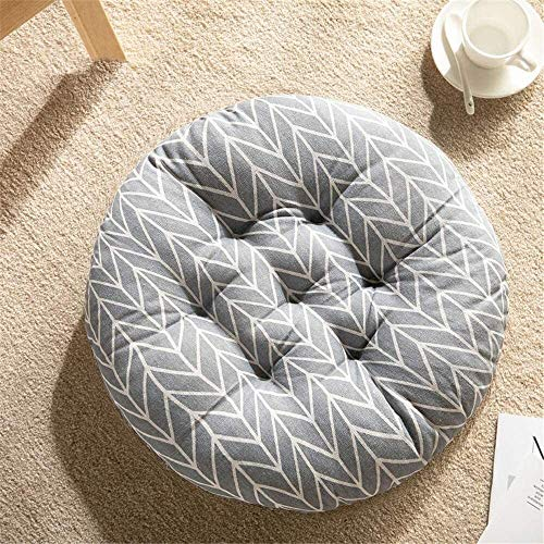 Set Of 4 Chair Cushions 1PC Solid Square Seat Cushion Cotton Quilted Thicken Pillow Non Slip Patio Chair Cushion Tatami Floor Cushion For Yoga Meditation Living Room Balcony Office Outdoor