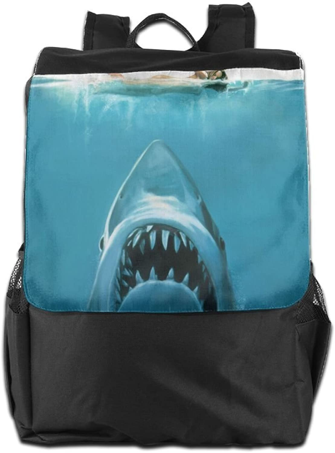 Shark Girl Printed Girls Backpack Lightweight Casual