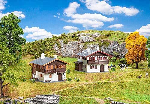 Faller 190162 H0 Aktions-Set Alpenhäuser