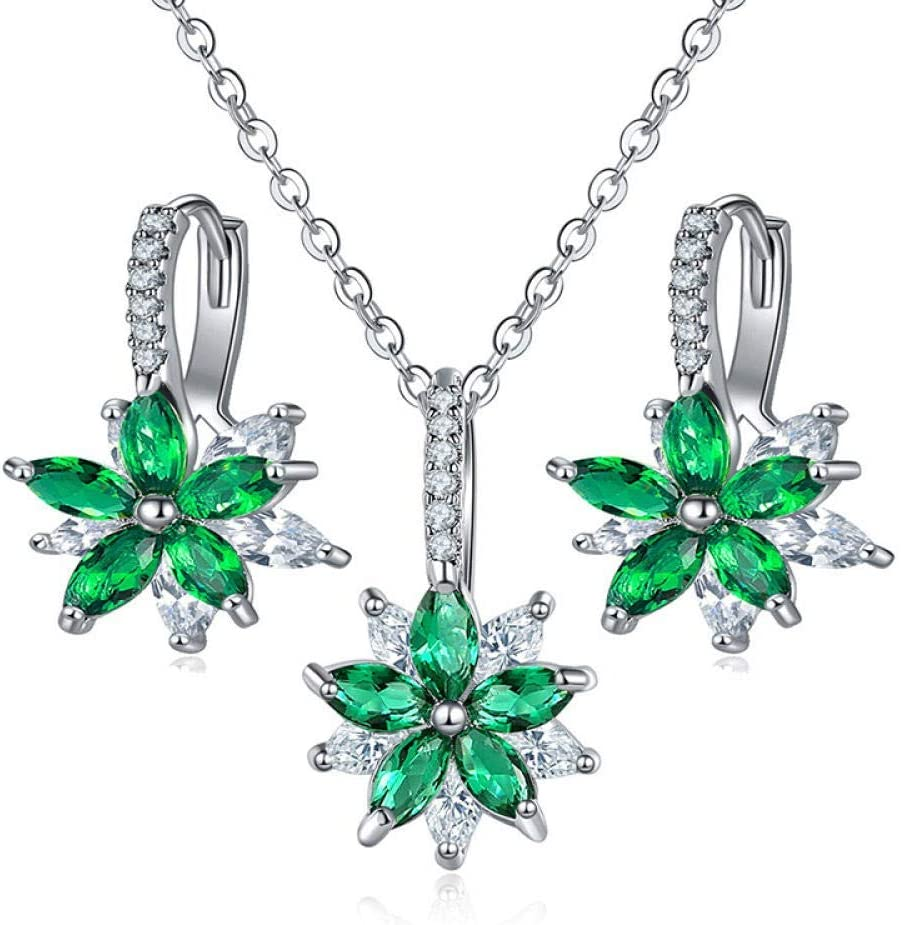 Urns Ashes Funeral Jewellery Sets Colorful Flowers Crystal Pendant Necklace Earrings Women Fashion Party Wedding Bridal Jewelry Set,Colour:K Pet Memorial Dog cat Urn (Color : C)