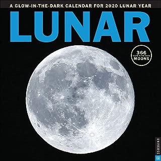 Lunar 2020 Wall Calendar: A Glow-in-the-Dark Calendar for the Lunar Year