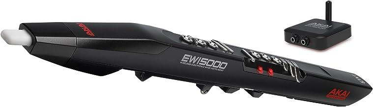 Akai Professional EWI5000 | ساز بی سیم ، باتری با استفاده از ابزار بعدی بادی الکترونیکی با کتابخانه صدا در هیئت مدیره برای سازندگان وود ویندوز و برنج