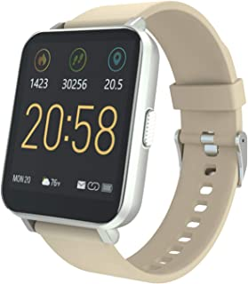 YIRSUR Smart Watch 2020 Ver. for Android & iOS, HD Touch Screen Fitness Tracker A-GPS with Sync Notification IP68 Waterpro...