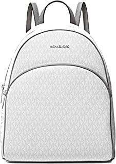 Michael Kors Abbey Large Backpack Bright White